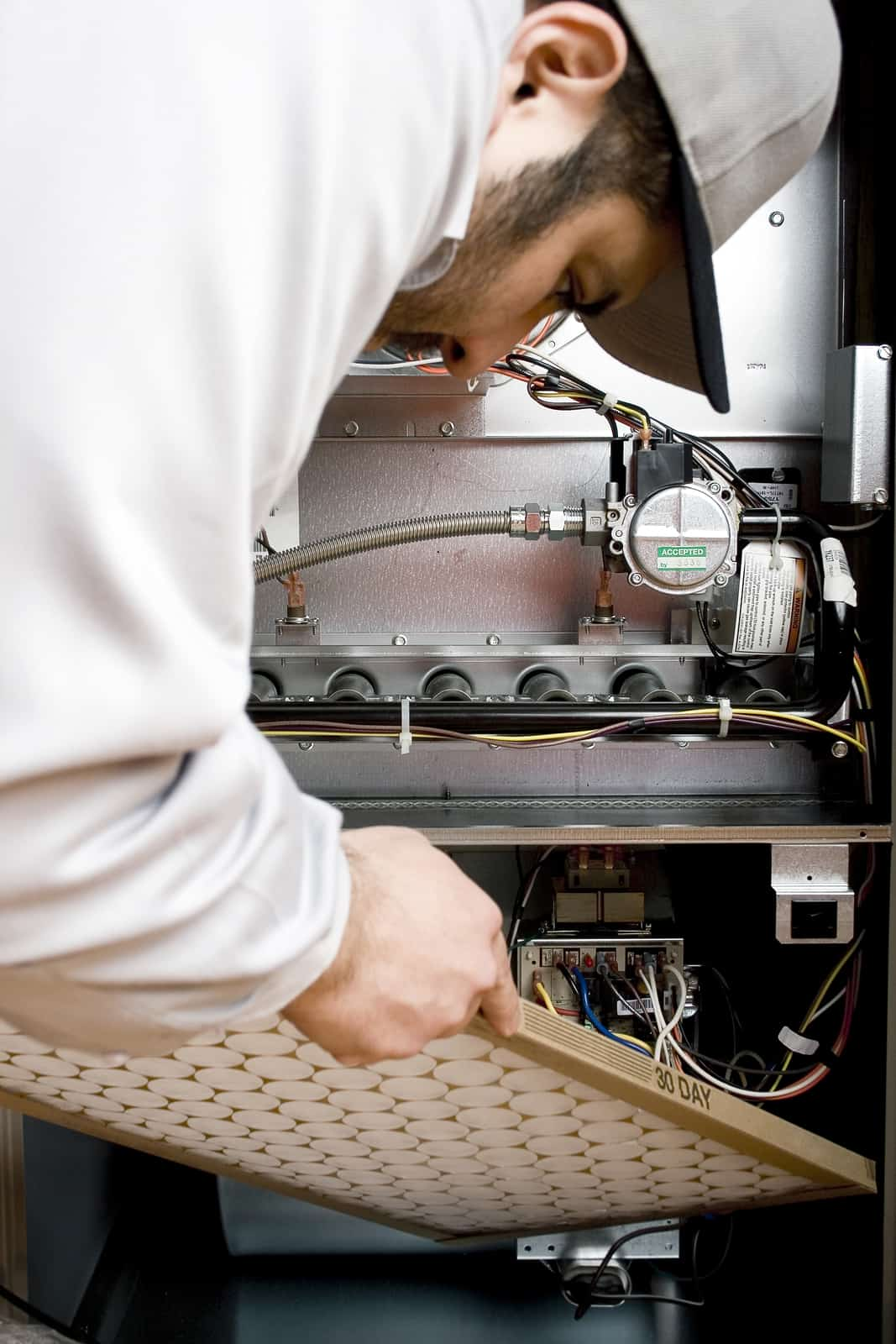 Furnace tune-up by McHales in Bucks County, PA